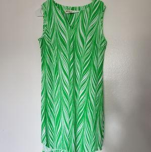 Jude Connally RARE green palm tree print